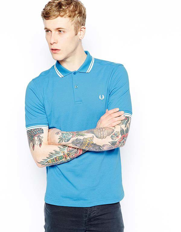 2dc90df8d The Lakvold Group – Fred Perry Polo with Twin Tip in Slim Fit